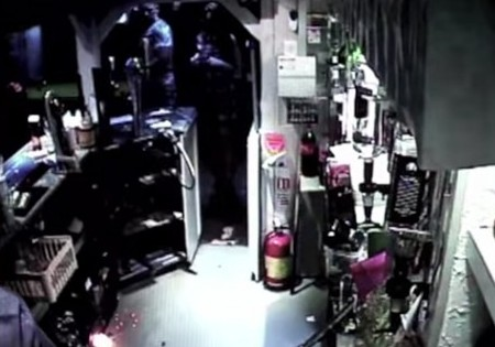 Electronic Cigarette Battery Explosion Caught On Tape