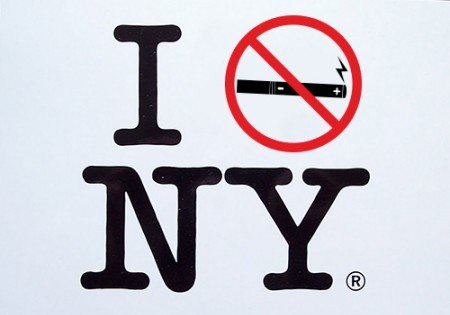 New York City Public Ban On Electronic Cigarettes Officially Starts