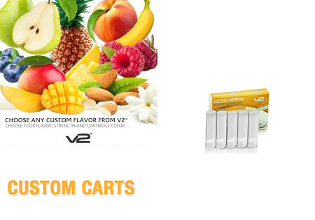 Did You Know You Could Create Your Own E-Cig Flavor With V2 Cigs?