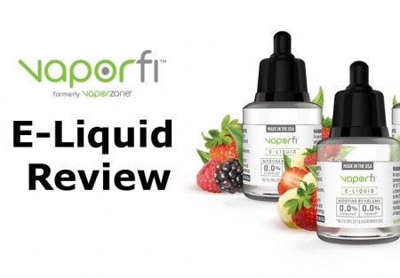 VaporFi E-Liquid Review