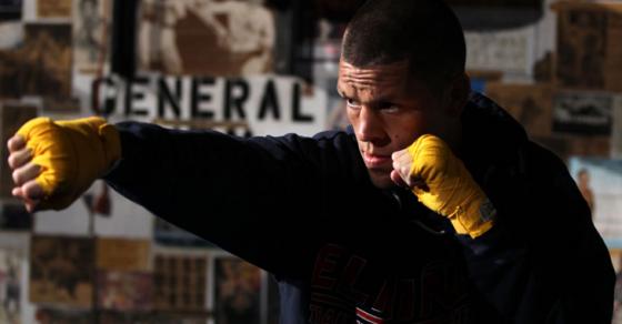 UFC's Nate Diaz Warned For Vaping