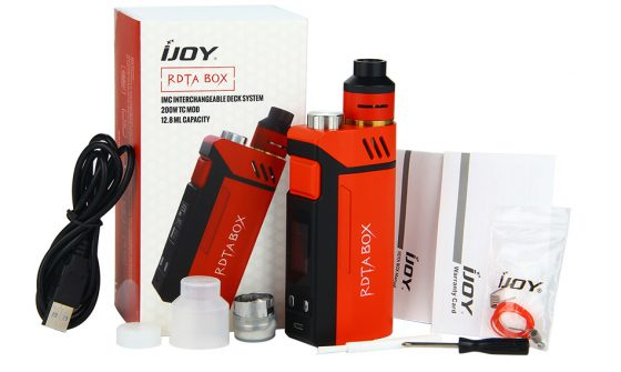 iJoy RDTA Box 200W Review